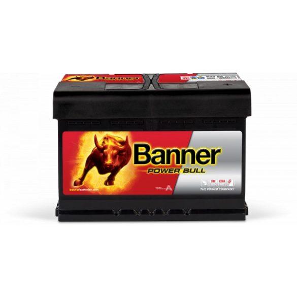 Banner Power Bull 12 V 72 Ah 670 A alacsony jobb +