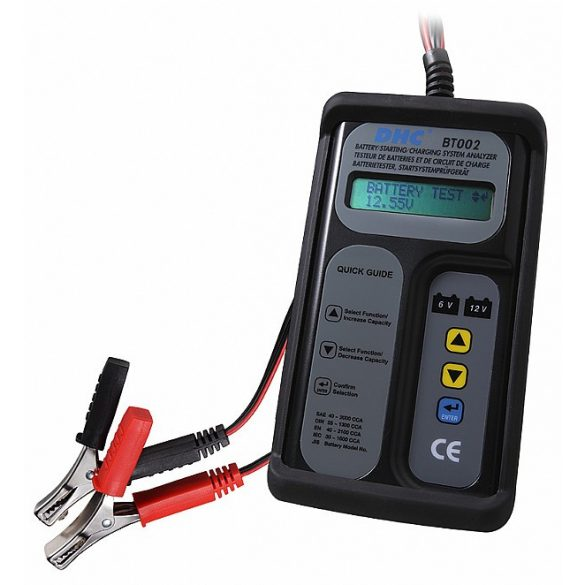 DHC BT-002 akkumulátor teszter