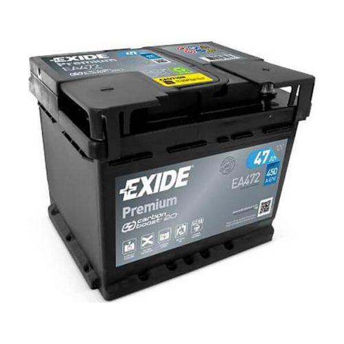 Exide Premium 12V 47 Ah 450A jobb+