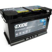 Exide Premium 12 V 90 Ah 720 A jobb + EA900 Toyota Avensis 2.2 diesel