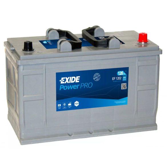 Exide Powerpro 12 V 120 Ah 870 A jobb +