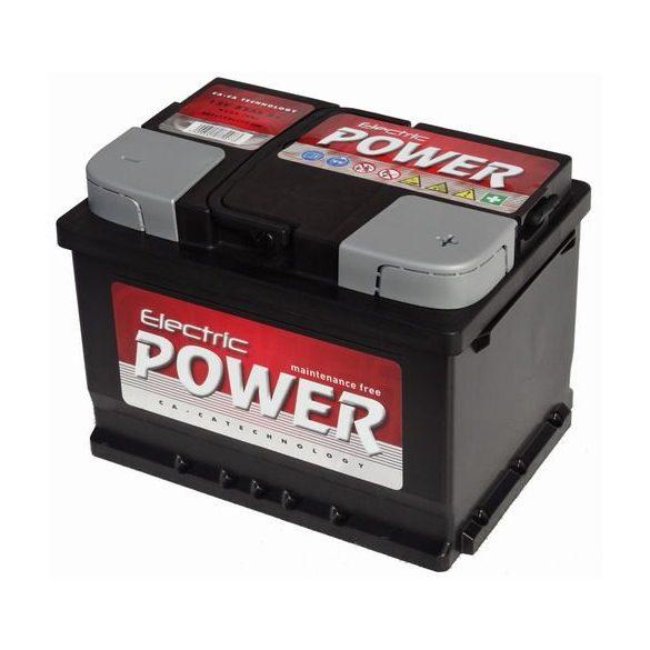 Electric Power 12 V 60 Ah 500A jobb +