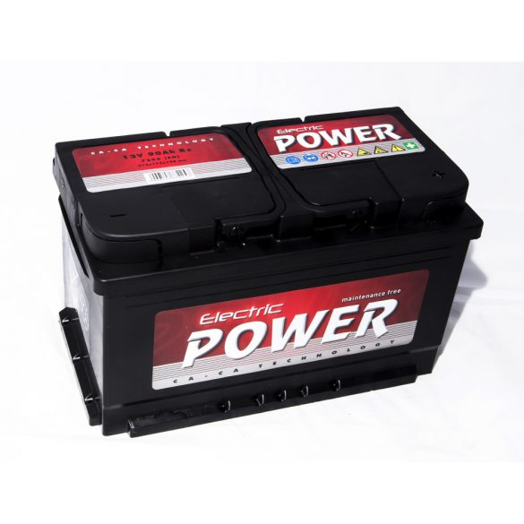 Electric Power 12 V 90 Ah 720 A jobb + (175 mm)