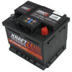 Kraftmann 12 V 45 Ah 440 A jobb  + Varta termék