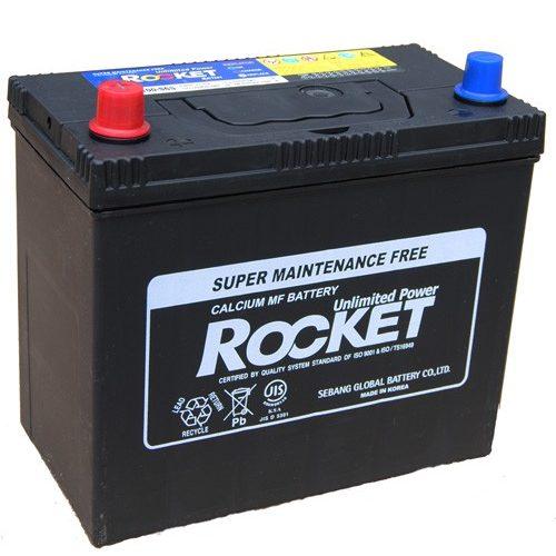 Rocket 12 V 45 Ah 430 A bal +  normál saru