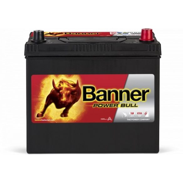Banner Power Bull 12 V 45 Ah 390 A jobb +