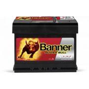 Banner Power Bull 12 V 60 Ah 540 A jobb + akkumulátor