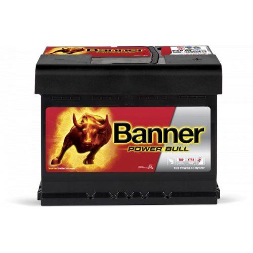 Banner Power Bull P6009 12 V 60 Ah 540 A jobb + akkumulátor