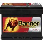 Banner Power Bull P6209 12 V 62 Ah 550 A jobb +
