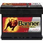 Banner Power Bull P6219 12 V 62 Ah 550 A jobb +