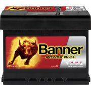 Banner Power Bull 12 V 62 Ah 550 A jobb +