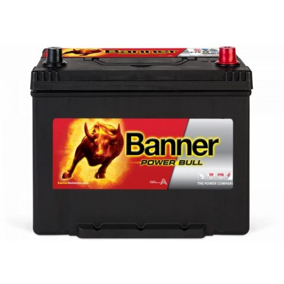 Banner Power Bull 12 V 70 Ah 600 A jobb + P7029