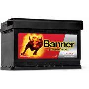 Banner Power Bull P7412 12 V 74 Ah 680 A jobb +