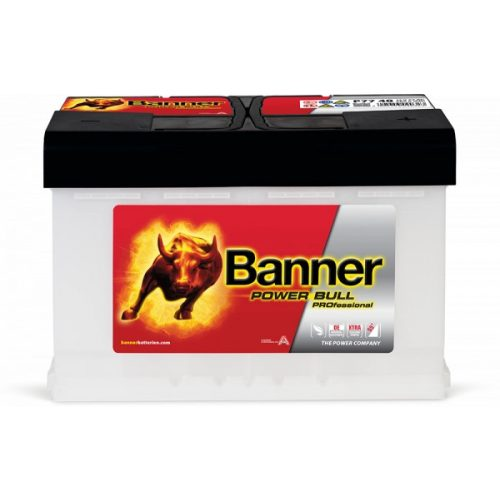 Banner Power Bull Proffesional P7740 12 V 77 Ah 700 A jobb +