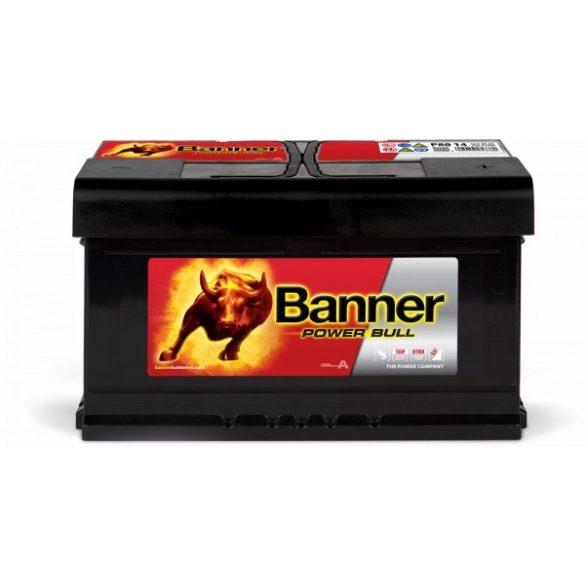 Banner Power Bull 12V 80 Ah 700A jobb+