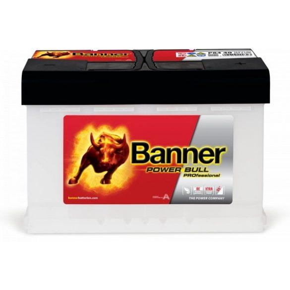 Banner Power Bull Professinal 12V 84 Ah 760 A jobb +