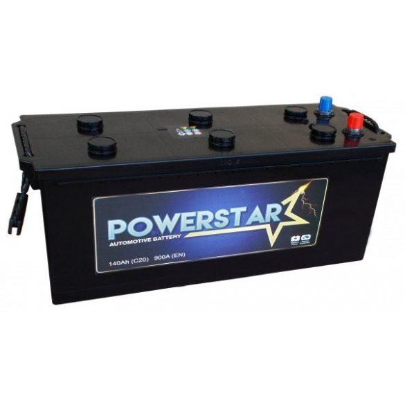 POWERSTAR 12 V 140 Ah 900 A bal +