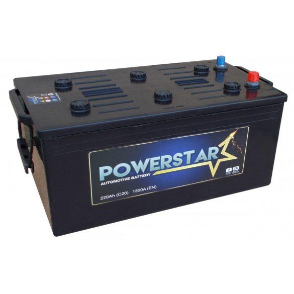 POWERSTAR 12 V 220 Ah 1300 A bal +