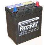 Rocket 12 V 40 Ah jobb +  vékony saru