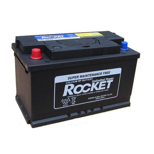 Rocket 12 V 90 Ah 720 A bal + Lacetti diesel akkumulátor
