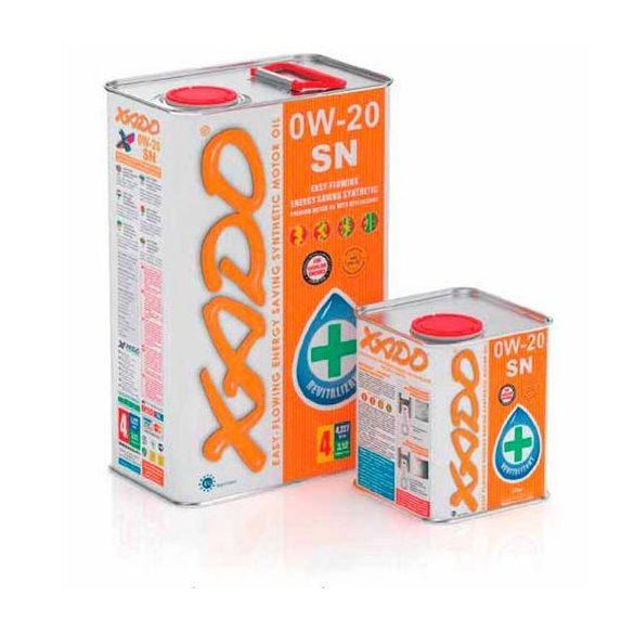 XADO 0W-20 SN motorolaj 1 liter
