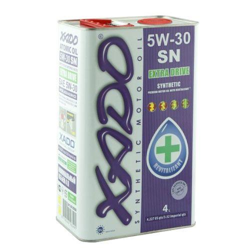 XADO 5W-30 SN motorolaj 4 liter