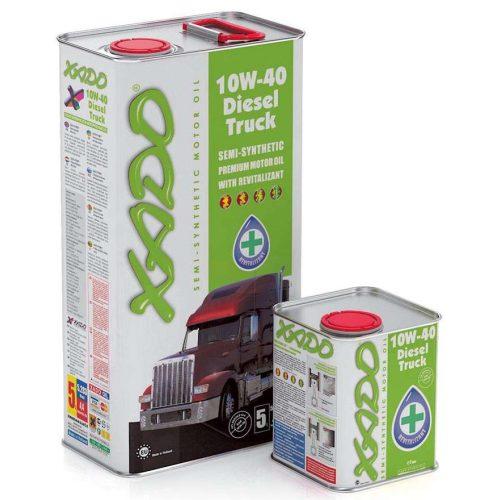 XADO 10W-40 Diesel Truck motorolaj 5L