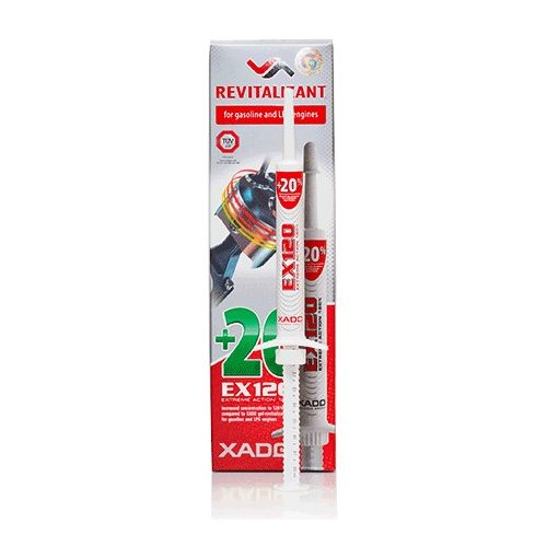 XADO EX120 fecskendő benzin motorkhoz 8 ml