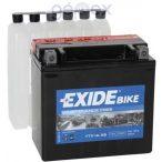 Exide ETX14L-BS 12 V 12 Ah jobb +