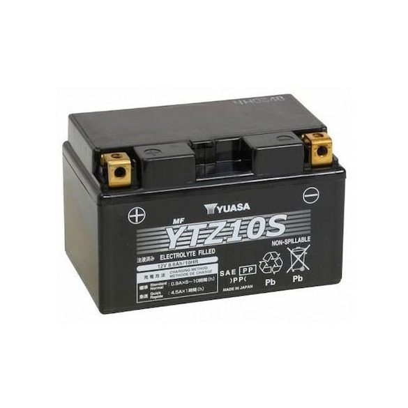Yuasa YTZ10-S 12 V 8,6 Ah 190 A bal +