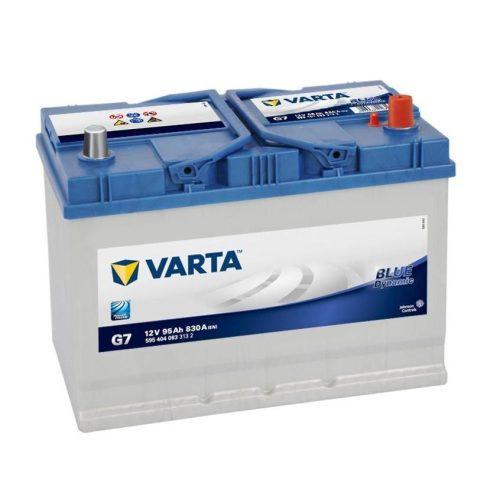 Varta Blue - 12v 95ah 830 A - autó akkumulátor - jobb+ *ázsia