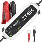 CTEK - CT5 TIME TO GO akkumulátor töltő hátralévő töltési idő visszajelzővel