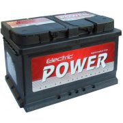 Electric Power 12 V 72 Ah  680A jobb +