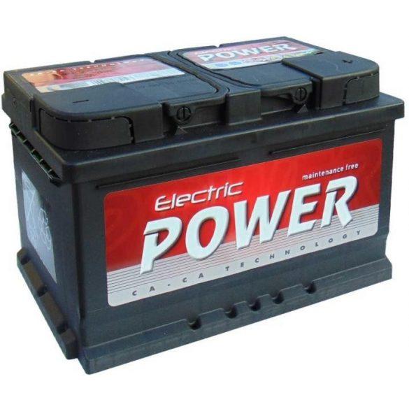 Electric Power 12 V 72 Ah  680A jobb +