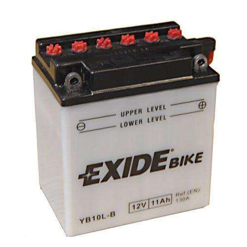 EXIDE YB10L-B 12V 11Ah Jobb+