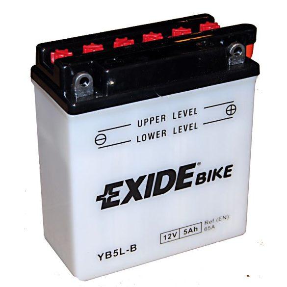 EXIDE YB5L-B 12V 5Ah Jobb+