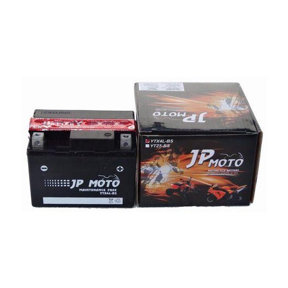 JP Moto YTX4L-BS 12V 3Ah jobb+