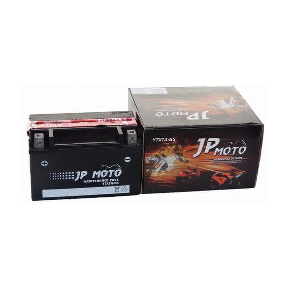 JP Moto YTX7A-BS 12V 6Ah bal+