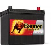 Banner Power Bull 12 V 60 Ah 510 A jobb + P6068 akkumulátor