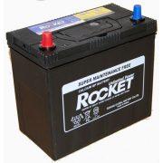 Rocket 12 V 45 Ah 430 A bal + vékony saru