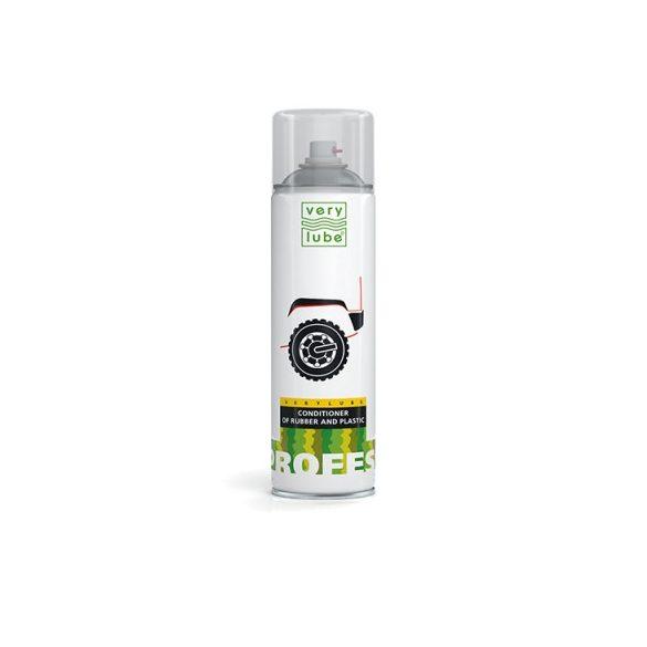 Verylube gumi és műanyagápoló spray