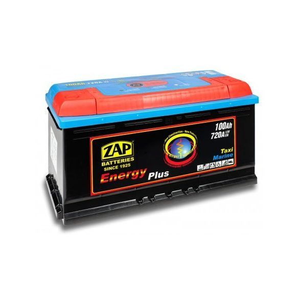ZAP Energy Plus 12 V 100 Ah Jobb+