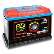 ZAP Energy Plus munka akkumulátor 12 V 80 Ah Jobb+